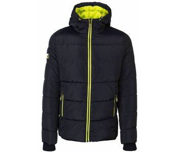 Superdry Sports puffer donkerblauw m50007lpf2