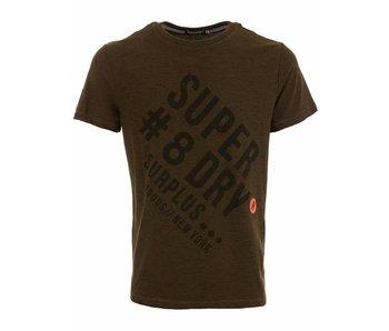 Superdry Surplus goods graphic tee olive m10014tp
