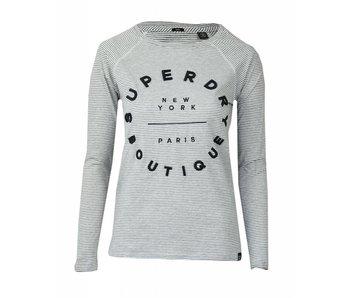 Superdry Raglan top grijs g60016pp