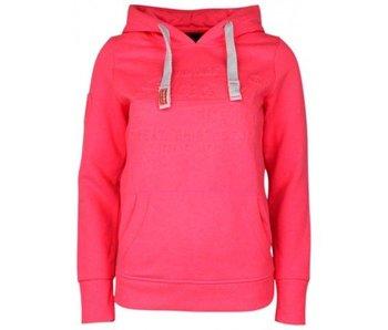 Superdry Sweat shirt hood roze g20014sp