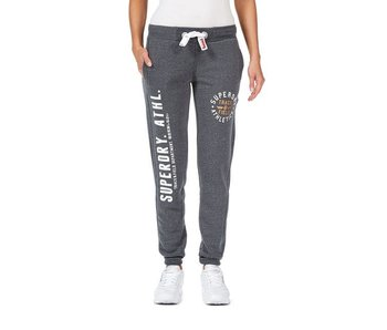 Superdry Track &field jogger antraciet g70000xpf4
