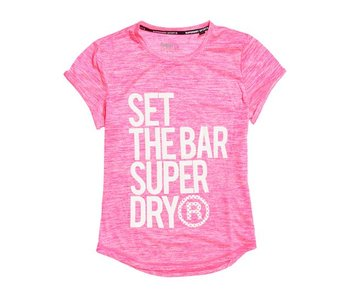 Superdry Sport tee roze g60001sp
