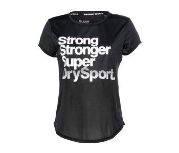 Superdry Sport tee zwart g60001sp