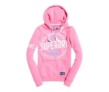 Superdry Hood roze G20000FP