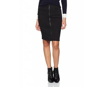 G-Star Lynn Lunar high slim skirt zwart D07869