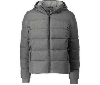 Superdry Sports puffer antraciet m50007lpf2