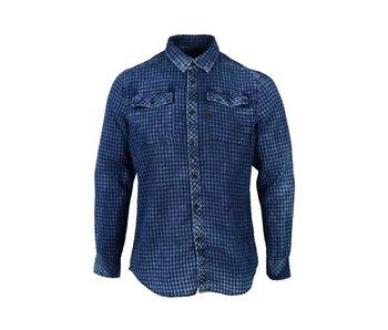 G-Star Landoh shirt ls blauw d06096-8518