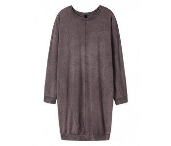 10Days Dress longsleeve paars 20-343-8101