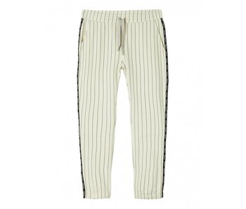 10Days Cropped jogger off white 20-017-8101