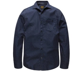 PME Legend Long Sleeve Shirt Jacquard Lennon Night Sky PSI177218