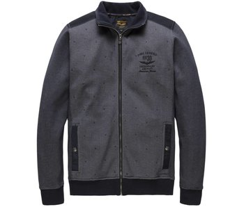 PME Legend Zip jacket Two Tone Interlock Night Sky PSW177442