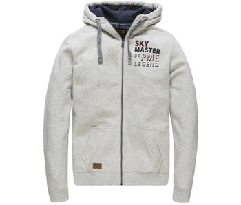PME Legend Hooded jacket Brushed Falcon Bone White PSW178445