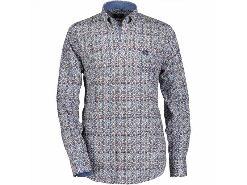 Overhemd Blauw.State Of Art Overhemd Blauw 17040 4257 Meneer Mevrouw Hoekstra