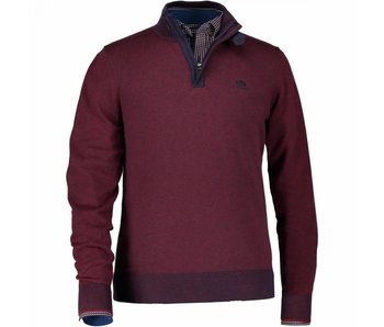 State of Art Pullover donkerrood 17148-4759