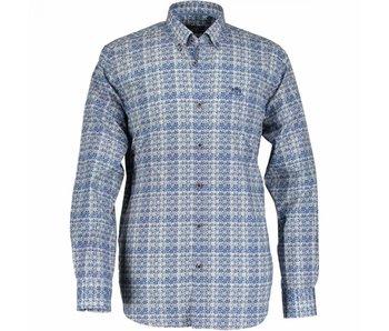 State of Art Shirt lm lichtblauw 17031-5357