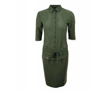 Jane Lushka Dress groen UE918SS91