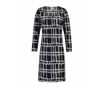 Penn & Ink Dress AOP grijs s18n227
