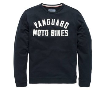 Vanguard R-neck Mercerized Sweat Dark Sapphire VSW181200
