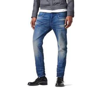 G-Star 3301 slim Firro stretch denim blauw 51001-6090-71