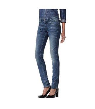 G-Star Lynn mid skinny blauw 60885-6550