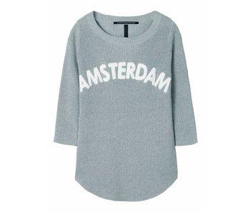 10Days Sweater Amsterdam grijs 20-616-8101