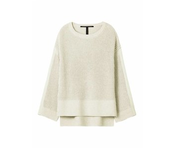 10Days Oversized sweater off white 20-615-8101