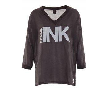 Penn & Ink Top antraciet s18f213