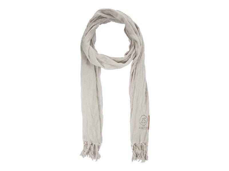 Zusss Nonchalante sjaal grijs 03NS18vset