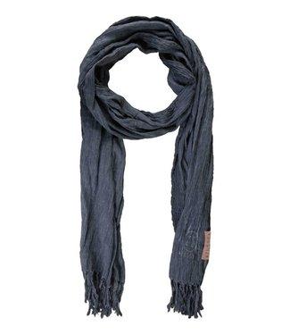 Zusss Nonchalante sjaal blauw 03NS18vset
