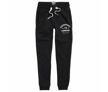 Superdry Applique slim jogger zwart G70021PQF1