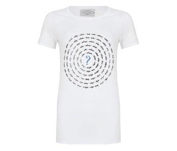 Jane Lushka T-Shirt wit P618SS504