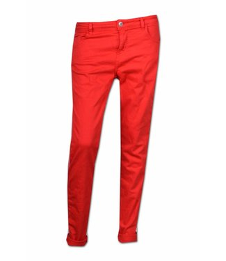 Maryley Pants tape white/red rood B502-G11-16RS