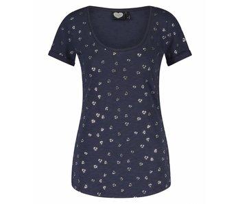 Catwalk Junkie T-shirt Kitty donkerblauw 1802010226