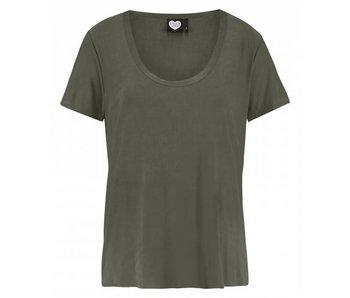 Catwalk Junkie T-shirt Maven Avocado groen 1802010200