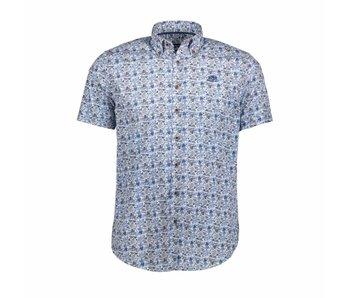 State of Art Shirt korte mouw blauw 264-18530-1957
