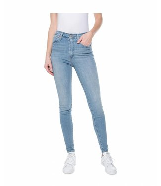 Levi's Mile high super skinny blauw 22791-0040