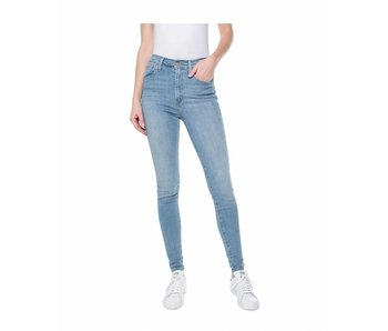 Levi's Mile high super skinny blauw 22791-0040