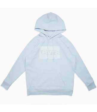 Levi's Graphic sport hoodie lichtblauw 35946-0011
