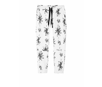 10Days Cropped jogger  big flower wit 20-049-8101