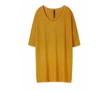 10Days V-neck dress geel 20-344-8101