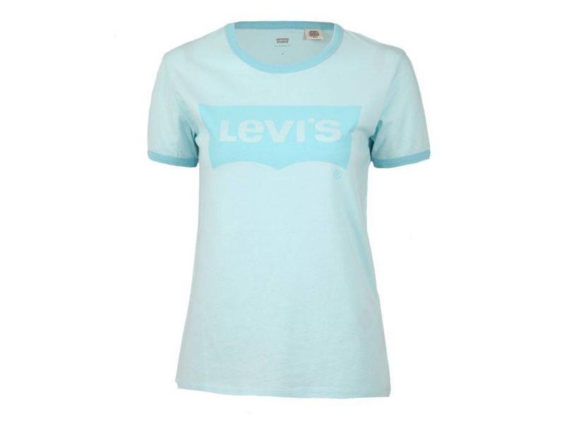 Levi's Perfect ringer tee lichtblauw 35793-0008