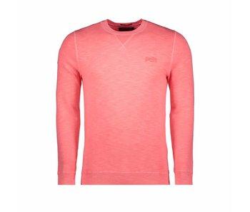Superdry Garment dye trui roze M61009AQF1