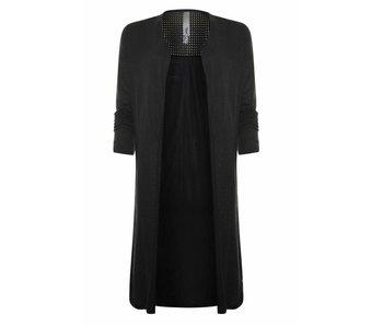 Poools Vest lang zwart 813249