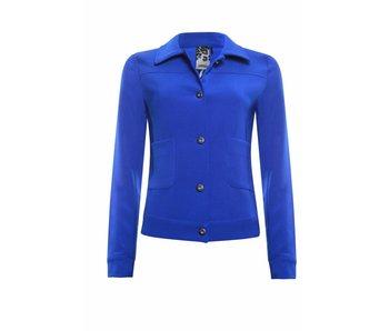 Poools Jacket plain blauw 813191