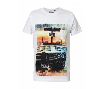 Petrol Industries T-shirt off white M-SS18-TSR631
