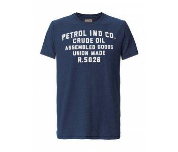 Petrol Industries T-shirt blauw M-SS18-TSR671