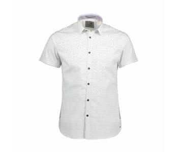 No Excess Shirt printed, stretch white 85490303