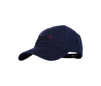 Superdry Orange label cap donkerblauw M90001WPF1