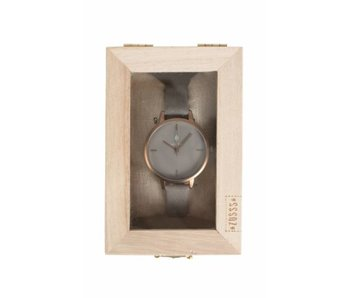 Zusss Hip horloge grijs horloge