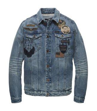 PME Legend Denim Jacket STONE VINTAGE STRETCH PDJ181150